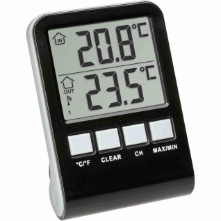 """Poolthermometer Funk """" Palma"""" Messtiefe 12 cm"""