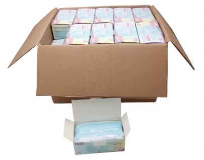 2000x Einmal-Mundschutz 3-lagig Mundschutzmaske Atemschutz Mund- Nasenbedeckung