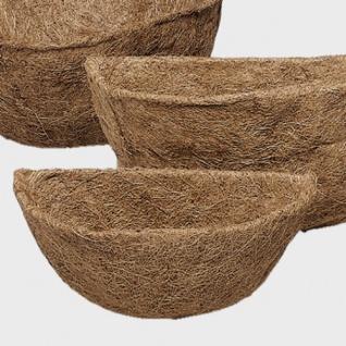 Gardman 30 cm Kokoseinlage Ersatzeinlage für Hängeampel Wandampel Kokosfaser