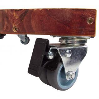 2er-Set Strandkorb-Rollenplattform + Schutzplane Transportroller Rolluntersetzer - Vorschau 3