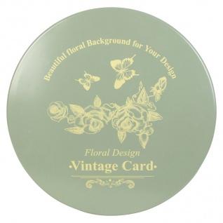 Vintage-Tisch Romantika Beistelltisch Balkontisch Gartentisch Terrasse Metall - Vorschau 2