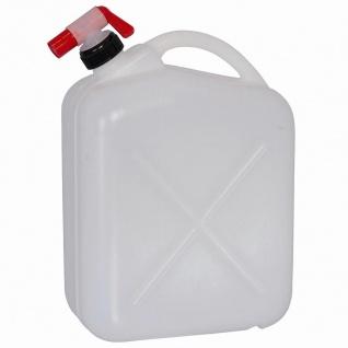 Wasserkanister 10l + Hahn Kanister Trinkflasche Trinkwasser Wasser Camping NEU