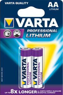 """Varta Batterien ,, Professional Lithium"""" 06106-301-402 Li-batter. 2er Aa"""