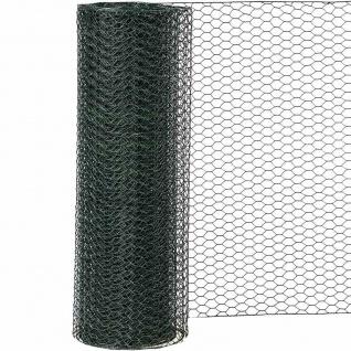 Sechseckgeflecht PVC grün 13/1000 10 m