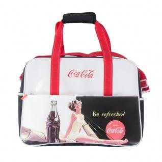 Kühltasche Coca Cola Kühlbox Einkauf Vintage Retro-Design Volumen 24, 1 Liter
