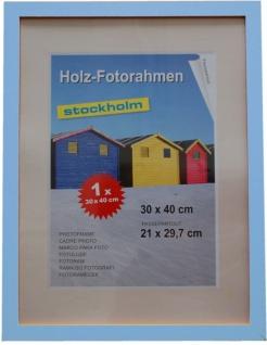 Holz Fotorahmen Bilderrahmen 30x40 cm Holzrahmen Rahmen Galerie Wanddeko - Vorschau 2