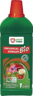 GREEN TOWER GT Bio Universal Flüssigdünger Universal-dÜnger 1ltr