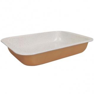 Backform Antihaft Auflauf hoher Rand rechteckig Lasagne Braten Bräter Kuchenform
