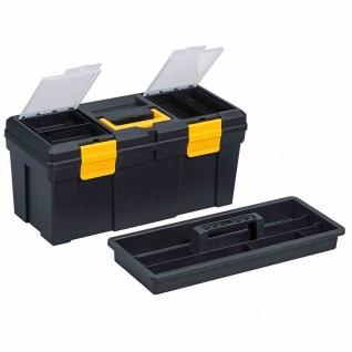 Werkzeugkasten 510x240x240mm Sortimentskasten Werkzeuge Werkzeugkoffer Heimwerk