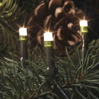 LED Minikette 100er innen Lichterkette Leuchtdeko Weihnachtsdeko Beleuchtung NEU