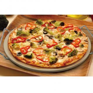 Pizzastein 33cm Backofenstein Brotbackstein Steinofen - Vorschau 2