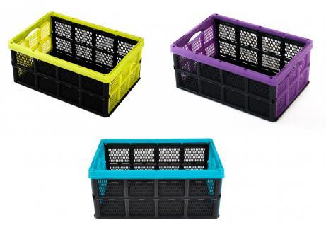 Klappbox 32 Liter Faltbox Aufbewahrungsbox Klappkiste Box Kiste Aufbewahrung Neu