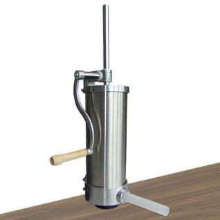 Wurstfüllmaschine Edelstahl 3 kg manueller Wurstfüller Wurstpresse Wurstspritze