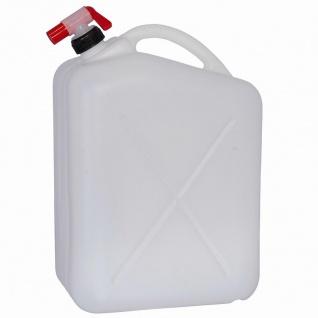Wasserkanister 20l + Hahn Kanister Trinkflasche Trinkwasser Wasser Camping TOP
