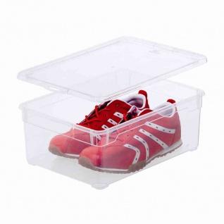 "Aufbewahrungsbox "" Clear Box"" 10 l mit Deckel, 36, 5 x 26, 5 x 14 cm"