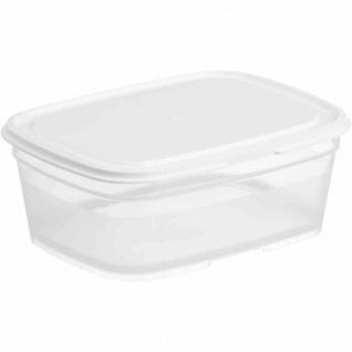 Lebensmittelbehälter rechteckig 0, 8 l