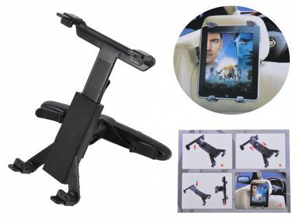 Universal Tablet Halterung Kopfstützenhalter verstellbar 360º Halter Smartphone