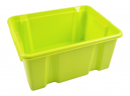 Stapelbox grün Aufbewahrungsbox Spielzeugkiste Aufbewahrungskiste Lagerkiste