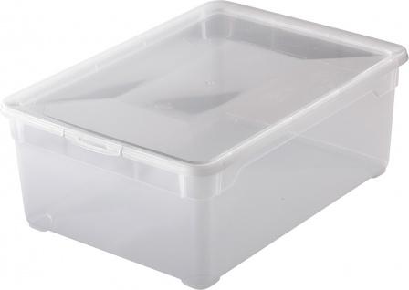 "rotho ROT Aufbewahrungsboxen ,, Clear Box"" 1404800096 Clear Box Men Shoes"