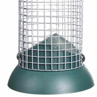 Futtersäule für Nüsse 24cm Vogelfutterhaus Vogelhaus Vögel Terrasse Garten TOP