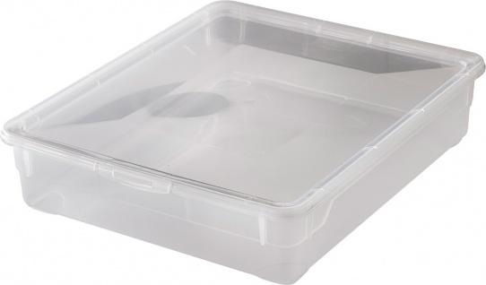 """rotho ROT Aufbewahrungsboxen ,, Clear Box"""" 1744200096 Clear Box Shirt 9 Ltr.1744200096"""