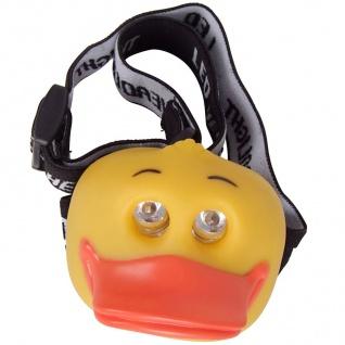 LED-Kopflampe Ente Kinderlampe Stirnlampe Taschenlampe Fahrradhelmlampe Camping