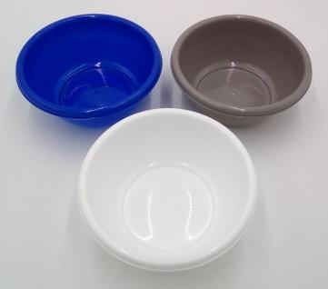 Schüssel rund 20cm 1, 2 L aus Kunststoff Küchenschüssel Rührschüssel Teigschüssel