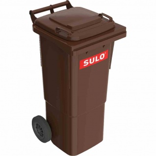 Kunststoff-Müllgroßbehälter braun 60 l Kunststoff