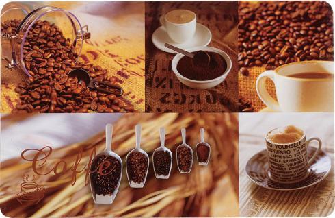 """TISCHSET ,, Kaffeebohnen"""" 15077 43x28cmcoffee Beans"""