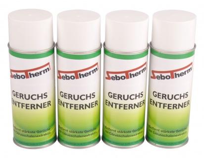 4x Spraydose Geruchsentferner Geruchskiller Geruchsvernichter Zitrone Auto