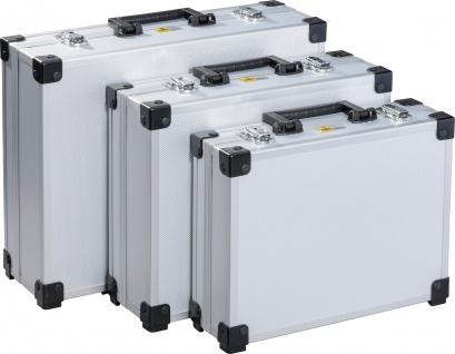 "allit FSC Koffer ,, AluPlus Basic L 3in1"" 424203 Aluplus 3in1 Silber"