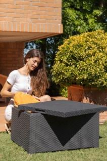 Toomax Olimpia Large Truhentisch Gartentisch Kissenbox Couchtisch Beistelltisch