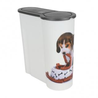 Hunde Futterdose 4L Aufbewahrungsdose Hundefutter Trockenfutter Vorratsdose