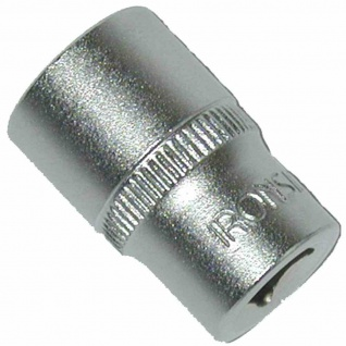 "Stecknuss 6, 35mm (1/4"") SW 13 6kant, Chrom-Vanadium-Stahl"
