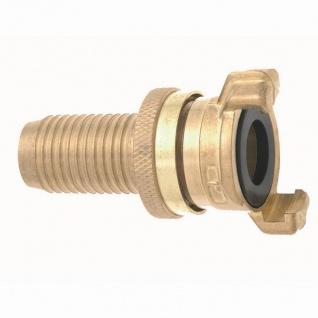 """Messing Saug-/Hochdruckkupplung 32mm (1 1/4"""") mit Schutzring"""