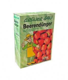 Grüner Jan Beerendünger 2, 5 kg Obstdünger Dünger Gemüsedünger Beeren