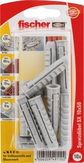 fischer Spreizdübel SX 49110 Duebel Sx10x50k 10st Sb49110