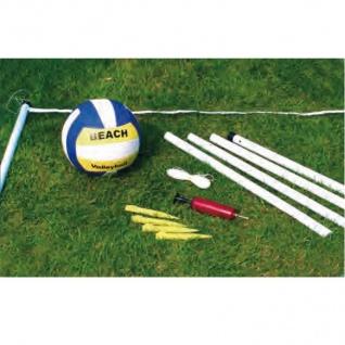 Hobby-Beach-Volleyballset Beachvolleyball Ballspiel Set Strandball ca.6x2x1, 95m - Vorschau 2