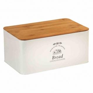 Metall-Brotkasten Brot Kasten Box Aufbewahrung Essen Lebensmittel Küchen Backen