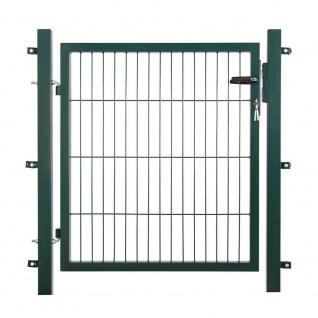 Einstabtor 1500 x 1000 mm grün New-System, 250 x 50 4-kant
