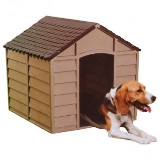 Hundehütte mit Boden Hundehaus Hundezwinger Tierhaus Hund Haus Hütte Höhle Box