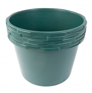 Baukübel 45L Baueimer Mörtelkübel Wassereimer Zementkübel Mörtelkasten Garten - Vorschau 2