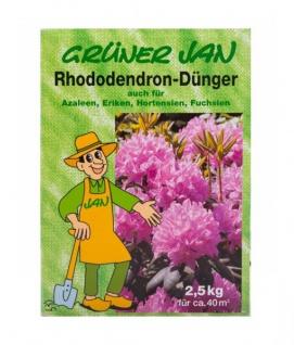 Grüner Jan Rhododendron Dünger 2, 5 kg