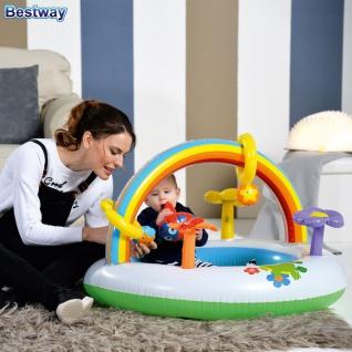 Spielcenter Rainbow Planschbecken Kinderpool Spielbogen Spieltrainer Babypool - Vorschau 2