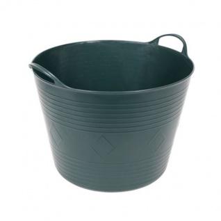 Universal Gartenkübel dunkelgrün Flexiwanne Garten Laubsammler Abfallbehälter