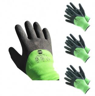 RECA Thermo Plus Arbeitshandschuhe 3x Gr.10 Winterhandschuhe Schutzhandschuhe