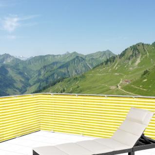 Balkonsichtschutz 5m Windschutz Balkonverkleidung Sichtschutzmatte Sichtschutz - Vorschau 5