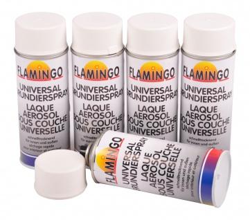5x Spraydose Grundierung Haftgrund weiß 400ml Rostschutz Korrosionsschutz Primer