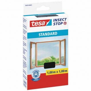 Fliegengitter 100x100cm Insektenschutz Fensterschutz Gitter Fliegen durchsichtig