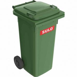 Kunststoff-Müllgroßbehälter grün 120 l MGB Kunststoff